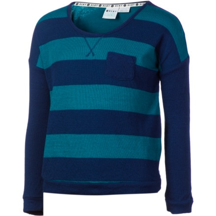 Roxy Back Again Pullover Sweatshirt - Girls'
