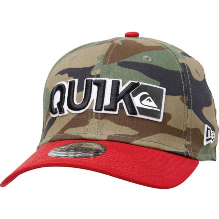 Quiksilver Blocked New Era Hat