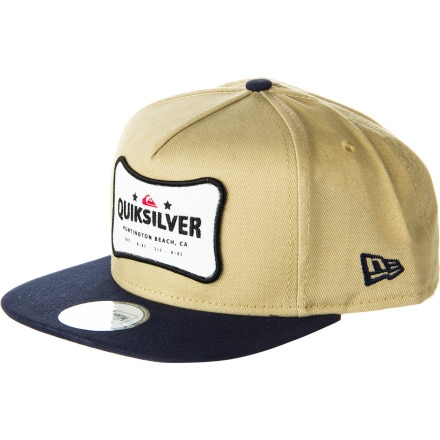Quiksilver Retire New Era Snapback Hat