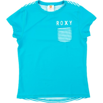 Roxy Breezy Babe Sail Away Rashguard - Girls'