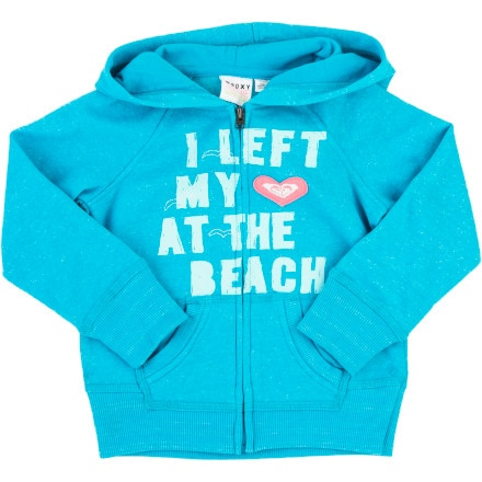 Roxy Peace Out Full-Zip Hoodie - Toddler Girls'