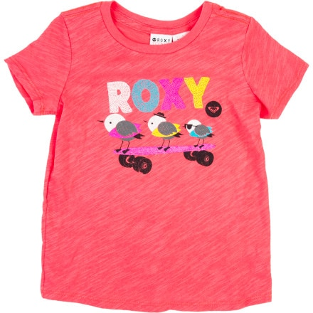 Roxy Beach Bomb T-Shirt - Short-Sleeve - Toddler Girls'