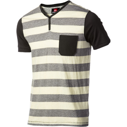 Quiksilver Vetoo Drum Shirt - Short-Sleeve - Men's