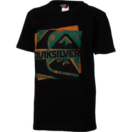 Quiksilver Hide And Seek Heat Sensitive Ink T-Shirt - Short-Sleeve - Boys'
