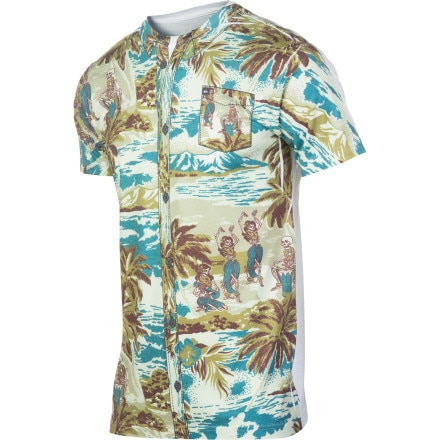 Quiksilver Luau Slim T-Shirt - Short-Sleeve - Men's
