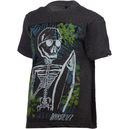 Quiksilver Skull And Roses T-Shirt - Short-Sleeve - Boys'