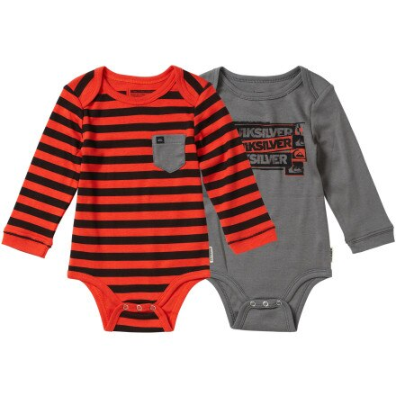Quiksilver Jail Bait One-Piece Suit - Long-Sleeve - Infant Boys' - 2-Pack