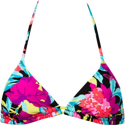 Roxy Tropic Tango Double Casing Tiki Triangle Bikini Top - Women's