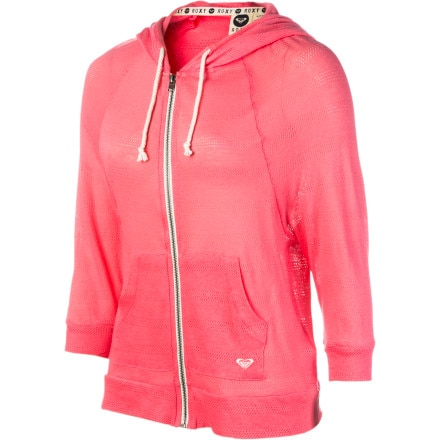 Roxy Breezy Day Full-Zip Hoodie - 3/4-Sleeve - Women's
