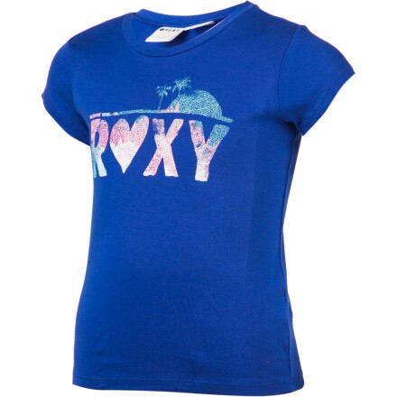 Roxy Coral Reef T-Shirt - Short-Sleeve - Girls'