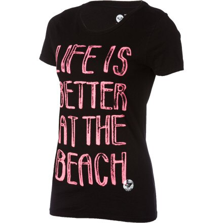 Roxy Better At The Beach T-Shirt - Short-Sleeve - Women's