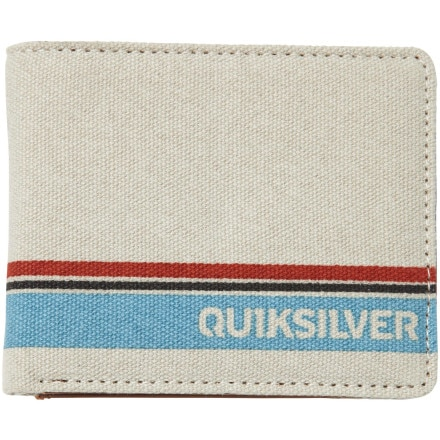 Quiksilver Land Ahead Bi-Fold Wallet - Men's