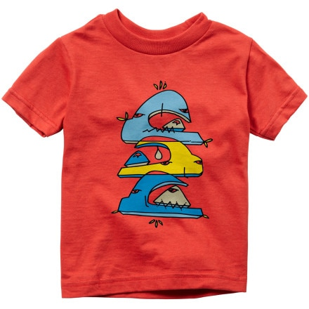 Quiksilver Wave Stack T-Shirt - Short-Sleeve - Infant Boys'