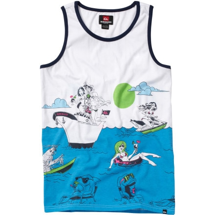 Quiksilver Sinking Teeth Tank Top - Men's
