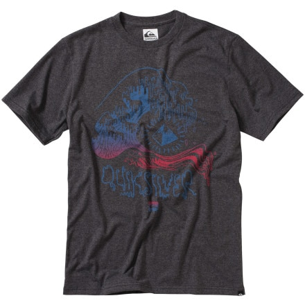 Quiksilver Big Dripper Slim T-Shirt - Short-Sleeve - Men's