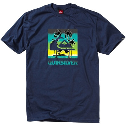 Quiksilver Sky Palms T-Shirt - Short-Sleeve - Men's