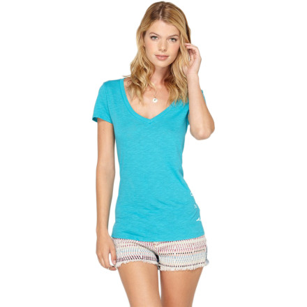 Roxy Radiate V-Neck T-Shirt - Short-Sleeve - Women's