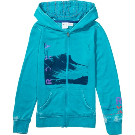 Roxy Horizon Peak Full-Zip Hoodie - Girls'