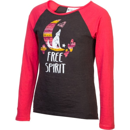 Roxy Free Spirit Shirt - Long-Sleeve - Girls'