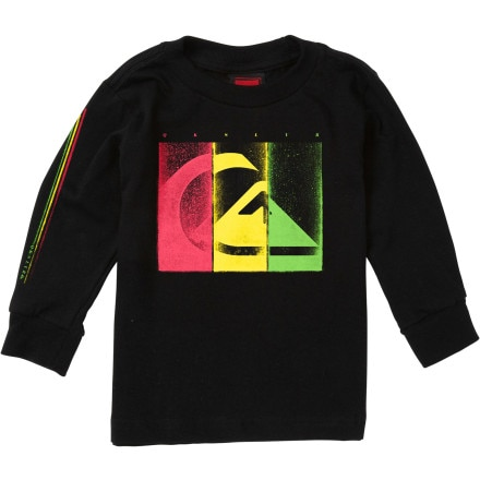 Quiksilver Damaged T-Shirt - Long-Sleeve - Infant Boys'