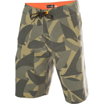 Quiksilver Waterman Cammofin Board Short - Men's