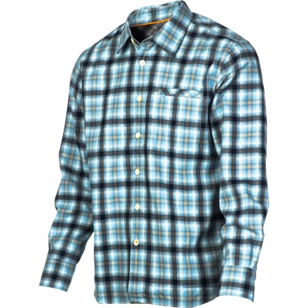 Quiksilver Waterman Marina Dunes Flannel Shirt - Long-Sleeve - Men's