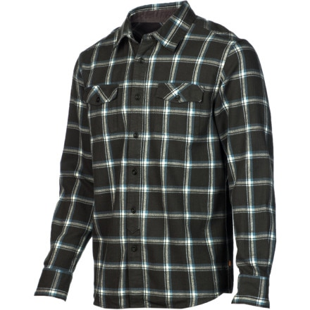 Quiksilver Waterman Grizzly Bay Flannel Shirt - Long-Sleeve - Men's