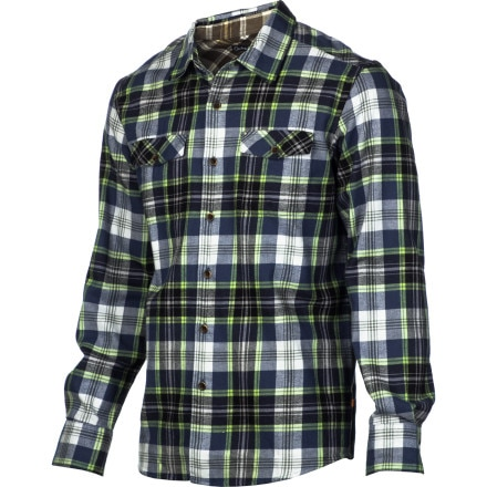Quiksilver Waterman Kings Cove 2 Flannel Shirt - Long-Sleeve - Men's