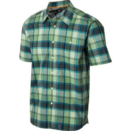 Quiksilver Waterman Headlands Shirt - Short-Sleeve - Men's