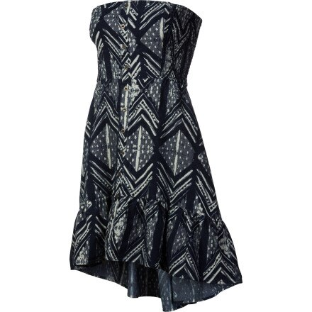 QSW Ocean Woodblock Dress - Women's