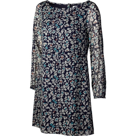 QSW Blue Stone Floral Dress - Women's