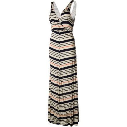 QSW Inlet Stripe Maxi Dress - Women's