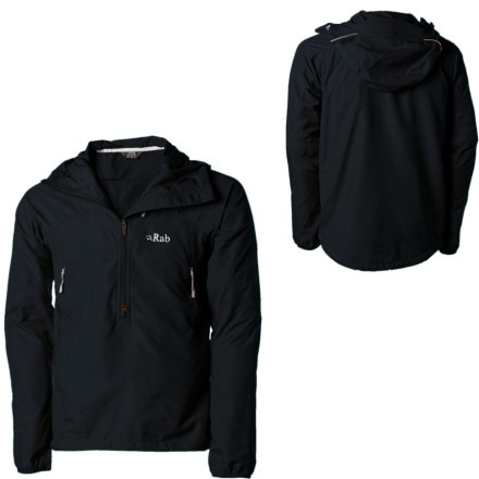 photo: Rab Alpine Pull-On soft shell jacket