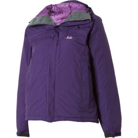 photo: Rab Microlight Alpine Event Jacket down insulated jacket