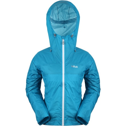 photo: Rab Women's Kinetic Jacket waterproof jacket