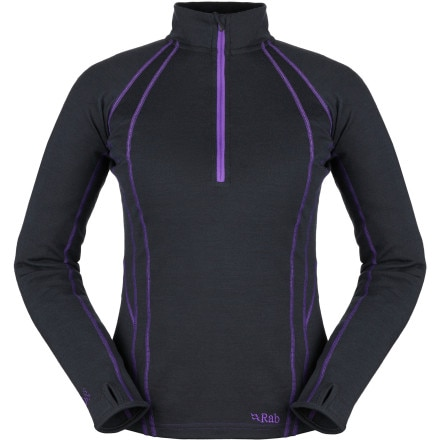 photo: Rab MeCo 250 Long Sleeve Zip