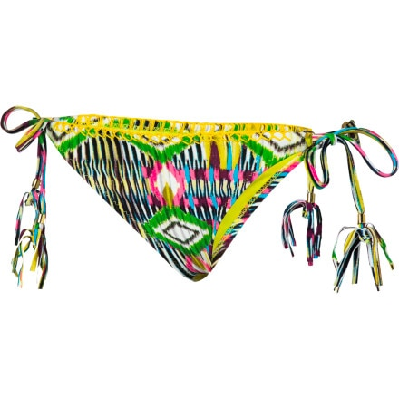Raisins Free Love Stringerkini Bikini Bottom - Women's