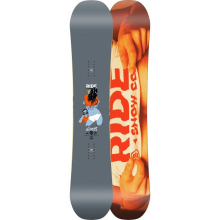 Ride Buck Up Snowboard - Wide