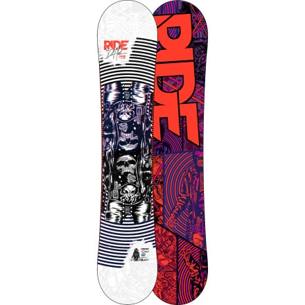 Ride DH2 Snowboard - Wide