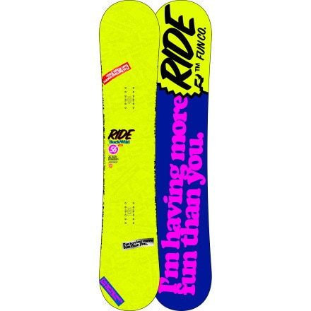 Shop for Ride Buckwild Snowboard - Wide