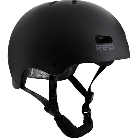 Red Trace Raw Helmet