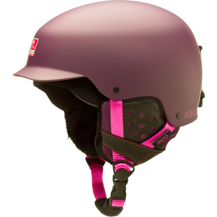 Red Asylum Helmet - Women's