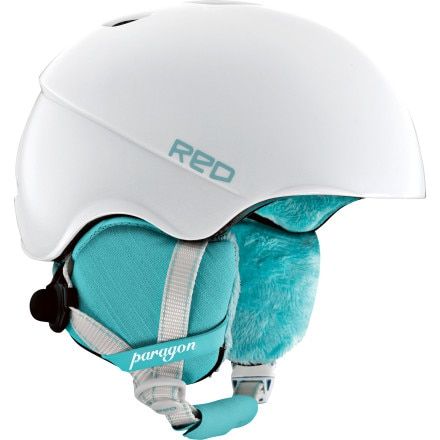Red Paragon Helmet - Women's