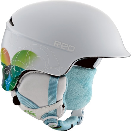 Red Aletta Helmet - Women's