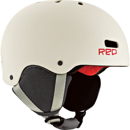 Red Trace Grom Helmet - Kids'