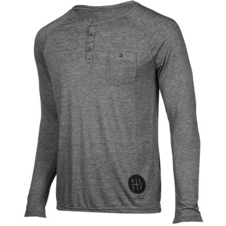 Reef Mister Pocket Henley Shirt - Long-Sleeve - Men's