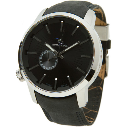Shop for Rip Curl Detroit Leather Watch