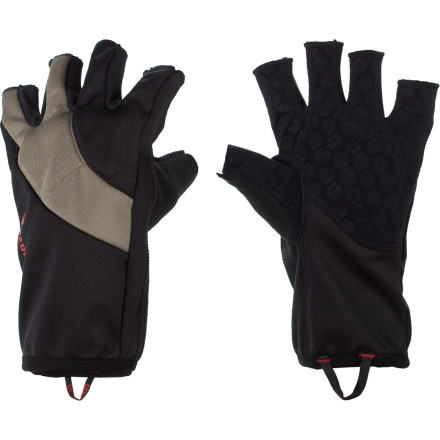 Redington Windproof Fingerless Fleece Glove
