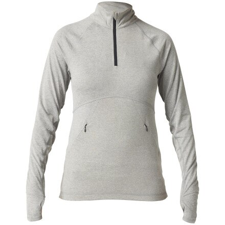 Roxy Outdoor Fitness Get Going Half Zip Top - Long-Sleeve - Women's