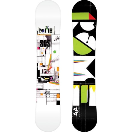 Rome Manual Snowboard - Wide